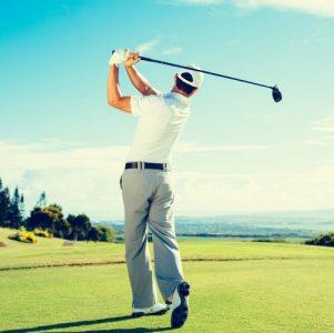 single-golfer